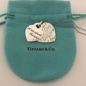 "Tiffany and Co. ""Let me count the ways"" necklace"